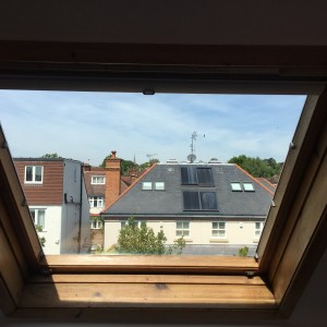 New Unit fitted in Velux Window