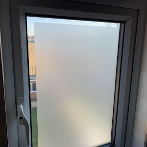Privacy Film with Clear Border