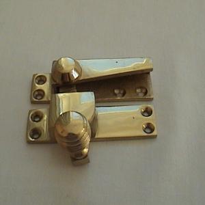 Basic sash window latch