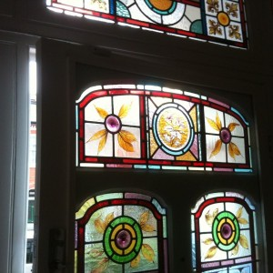 Traditional Leaded Coloured Glass