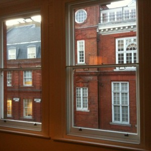 Sash windows renovated and secondary glazing frames fitted internally