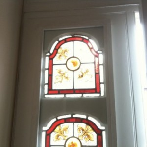 Leaded Glass Repairs - South West London