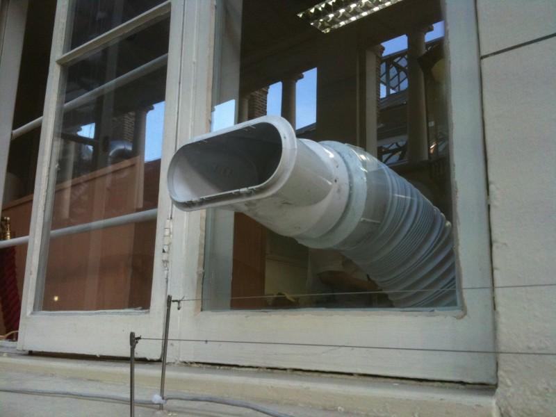 Vents Fitted In Glass In London