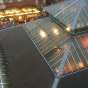 Roof Glazing In Covent Garden
