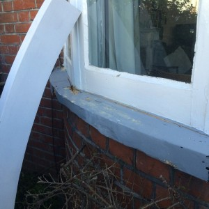 Wooden Sill Replacement