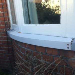 New Wooden Sill Fitted
