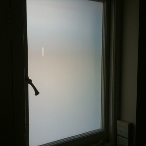Privacy film Fitted - Southfields SW18