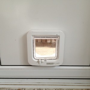 Microchip Cat-Flap in Infill Panel SW20