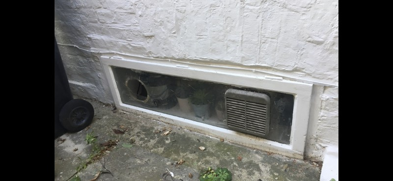 Gas Reg Vent Fitted In Toughened Safety Glass 1st Call