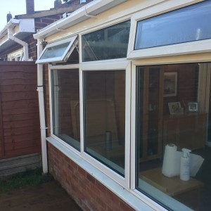Misted Units in Conservatory