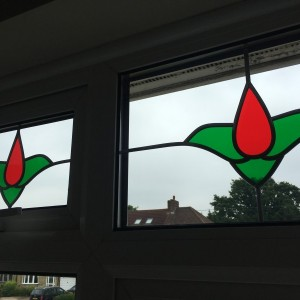 Coloured Lead in Glass Unit - South West London