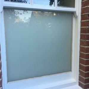 White Diffused Laminated Glass
