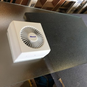 6-Inch Electric Fan fitted