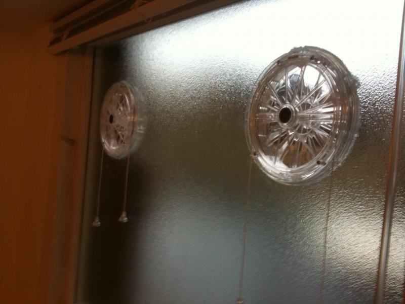 Vents Fitted In Glass In South West London