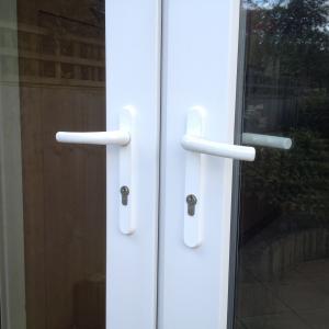 PVC door handles