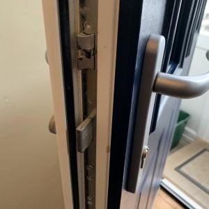 Composite Door Locking Mechanism
