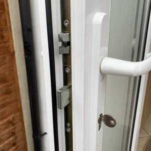 Locking Mechanism for PVC Door