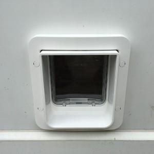 Microchip Dog-Flap in door - New Malden Surrey