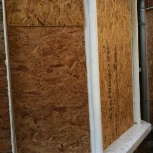 Boarding Window Frames