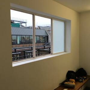 White Laminated Glazing