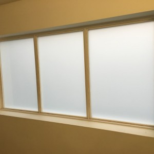 6.4mm White Laminated