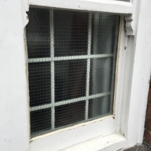 Georgian Wired Glass Fitted - Earlsfield SW18